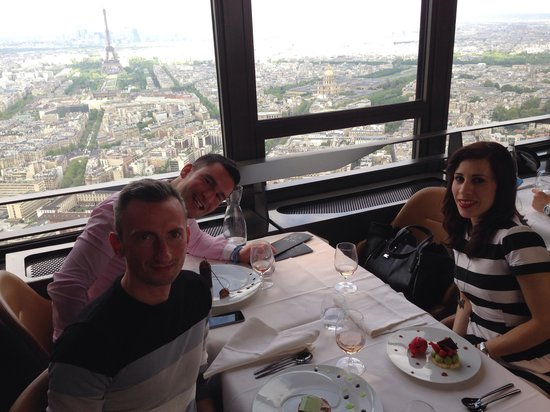 Le Ciel de Paris: Birthday lunch