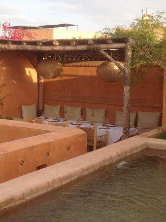 Dar Akal : terrasse