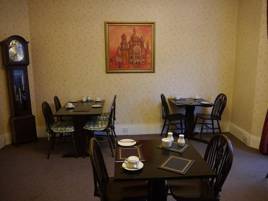 Kingsway Hotel Harrogate: Breakfast room