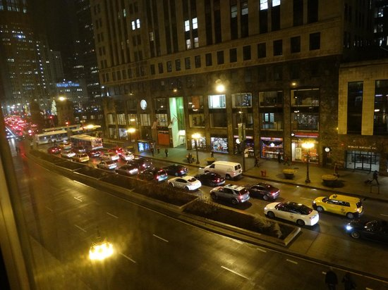 Comfort Suites Michigan Avenue / Loop : Vista do Hotel