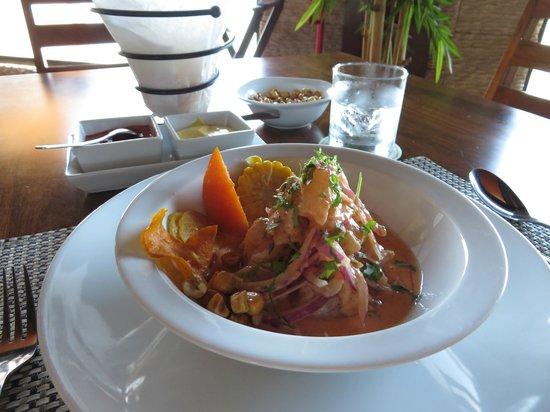 Lima 12 05 Peruvian Cuisine & Steak House: Ceviche!!!