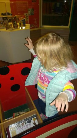 Snibston Discovery Museum and Country Park: Ladybird in the old toy museum