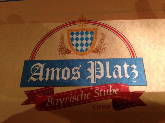 Amos Platz: Logo