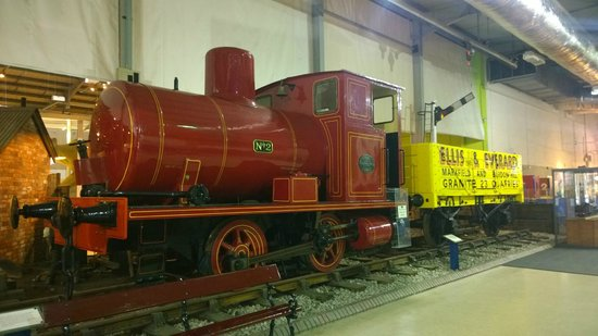 Snibston Discovery Museum and Country Park: Trains!