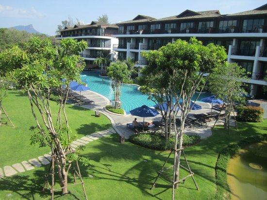 Holiday Inn Resort Krabi Ao Nang Beach: Blick vom Speisesaal
