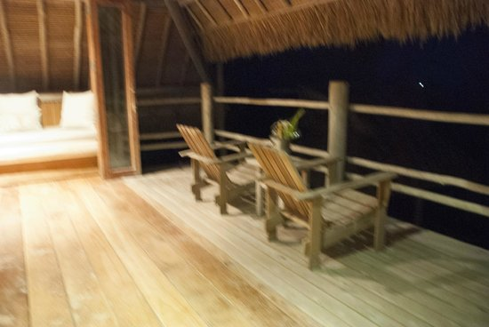 Nikoi Island: The 1st floor balcony