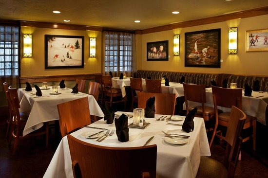 Black Diamond Bistro: Lower Dining Room