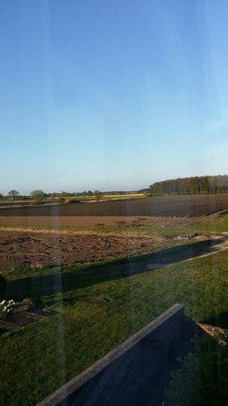 Deighton Lodge: View from our room.
