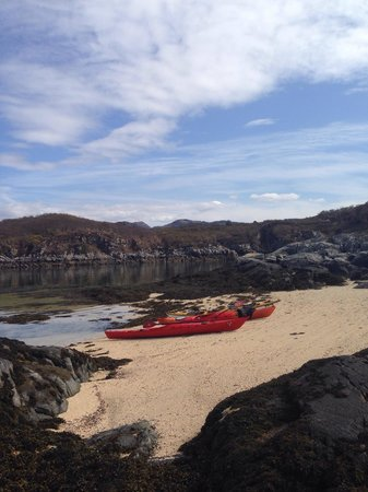 Sea Kayak Plockton: A great spot for lunch