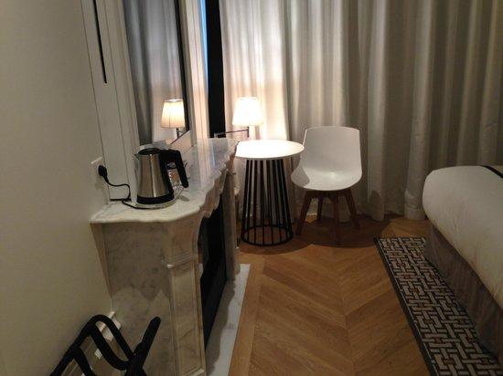Hotel R de Paris: cafe y te gratuito