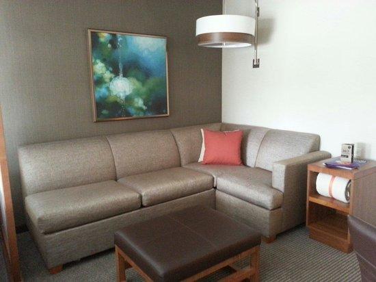 Hyatt Place San Juan/Bayamon : sofa-bed in room