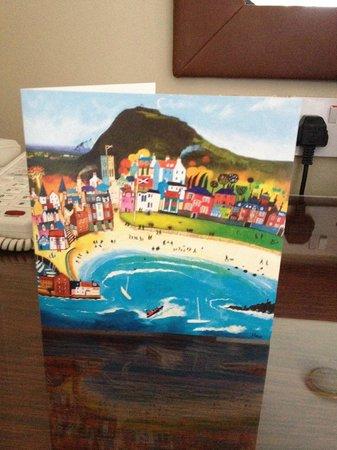 Macdonald Marine Hotel & Spa: Birthday card for my Husband
