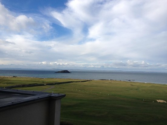 Macdonald Marine Hotel & Spa: View from our room