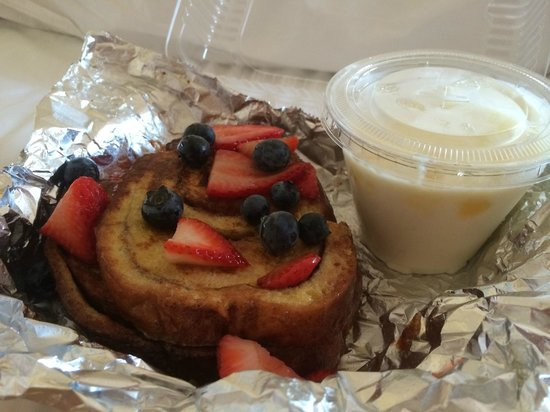 Cafe One Eight : French toast