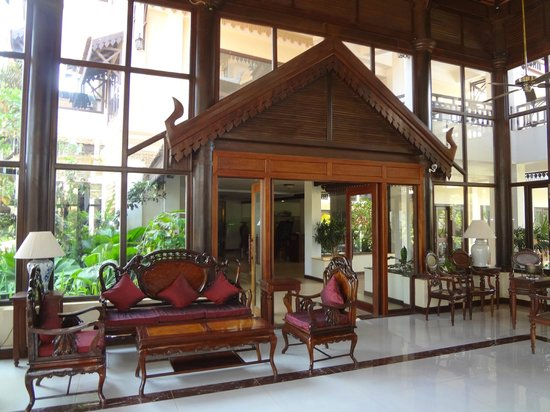 Saem Siemreap Hotel : Entrance to lobby