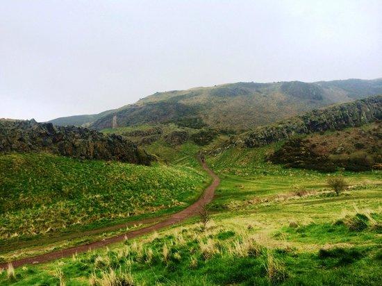 Holyrood park - Picture of Holyrood Park, Edinburgh ...