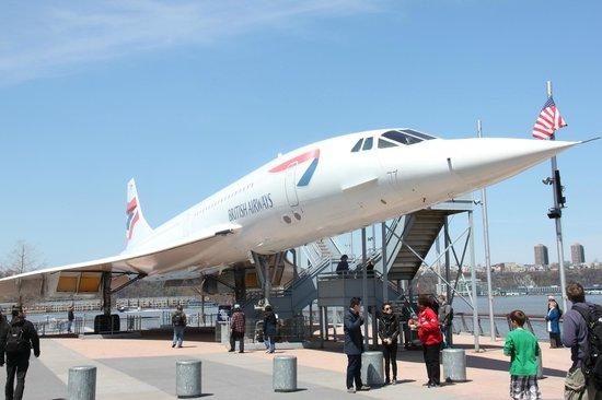 Intrepid Sea, Air & Space Museum: British Airways Concorde