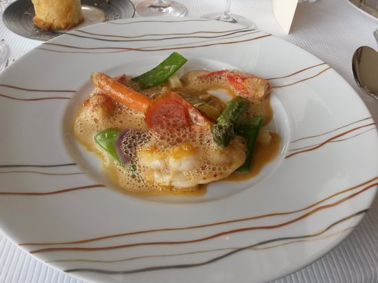 Restaurant Christopher Coutanceau : L'incontournable Civet de Homard ! ! !