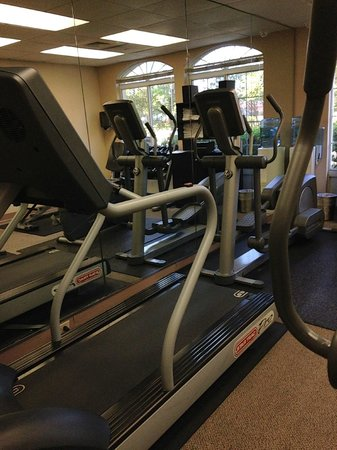 Fairfield Inn & Suites Clearwater : Fitness area