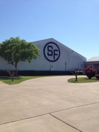Southfork Ranch : The famous initials of South Fork