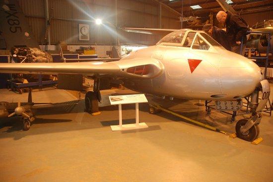 De Havilland Aircraft Museum: Vampire