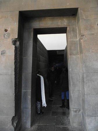 Convento de Santo Domingo: Porta Cerimonial Inca