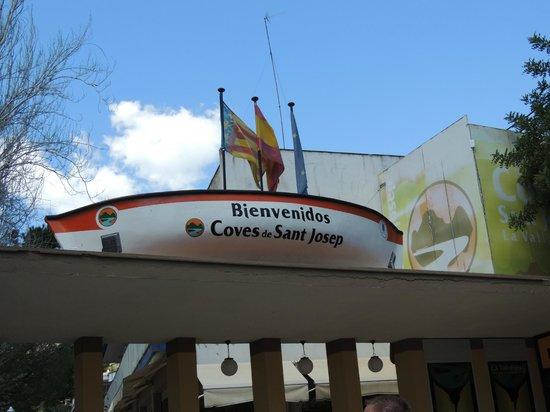 Coves de Sant Josep: Entrance to the Caves
