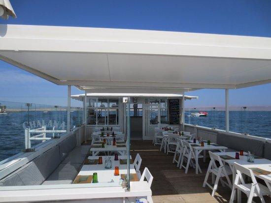 Hotel Paracas, a Luxury Collection Resort: Ceviche Restaurant on their pier