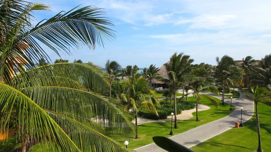 Grand Bahia Principe Tulum : A view from our room!