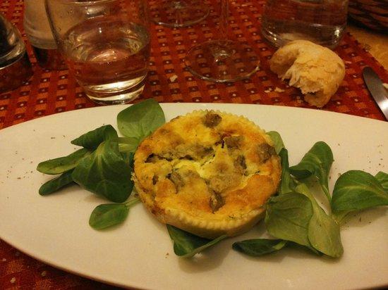 Ristorante il 14 : deliziosa crostata di melazane