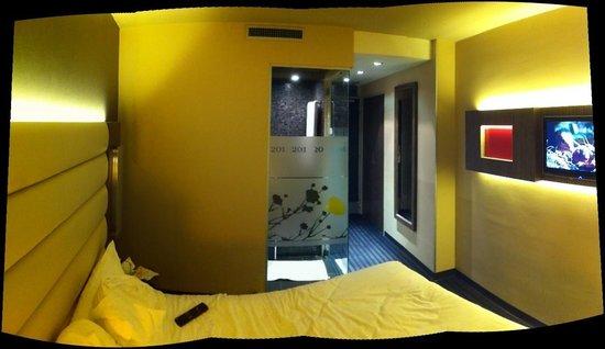 Hotel de Brienne : vue chambre