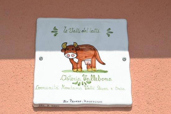 Osteria Vallebona: Particolare dell'esterno