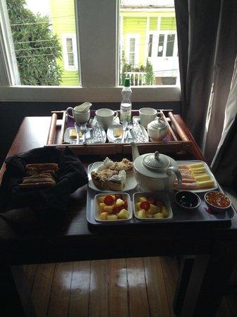 La Blanca Hotel: Desayuno completito y llenador!