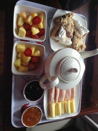 La Blanca Hotel: El desayuno muy rico!