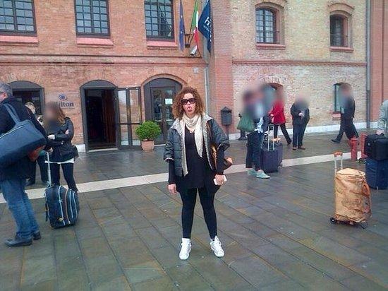 Hilton Molino Stucky Venice Hotel: All'esterno...