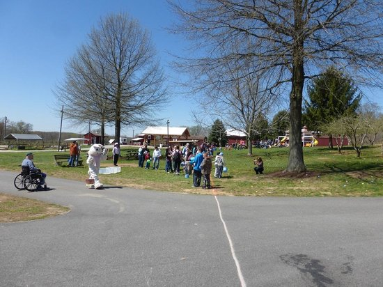 Milburn Orchards: Milburns Easter Egg Hunt & Bunny