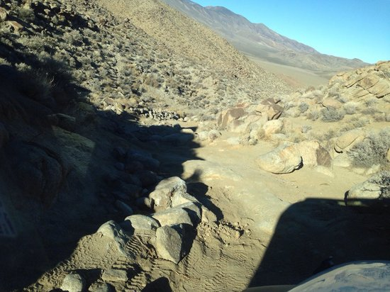 Parque Nacional del Valle de la Muerte, CA: Tough going..