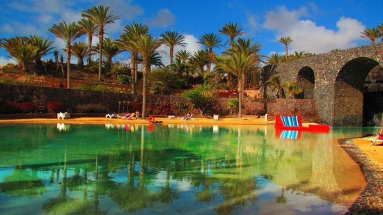 R2 Rio Calma Hotel & Spa & Conference: Salt water lagoon