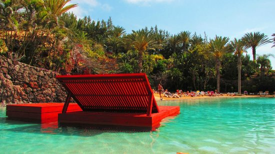 R2 Rio Calma Hotel & Spa & Conference : The salt water lagoon