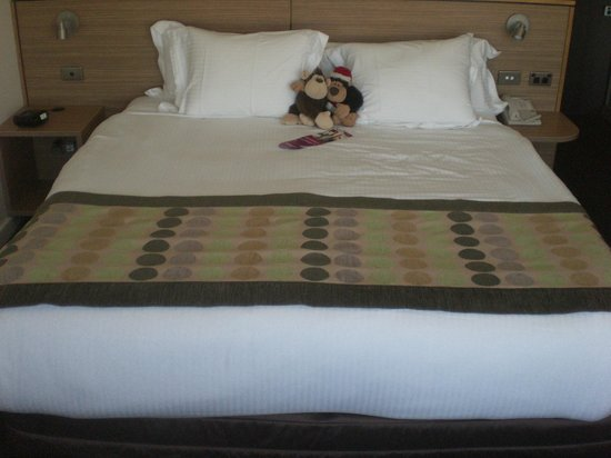 Crowne Plaza Hotel Canberra: Bed very comfortable