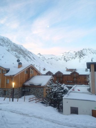 L'Aiguille Percee : Perfect powder morning