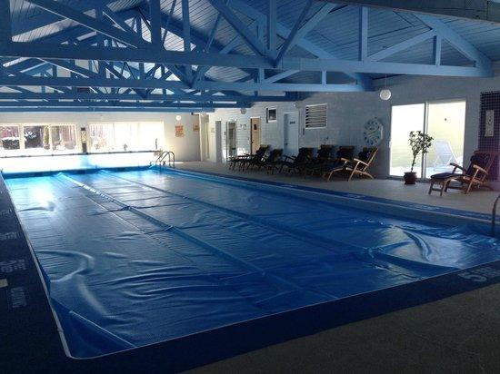 Copperhood Retreat & Spa : Huge pool