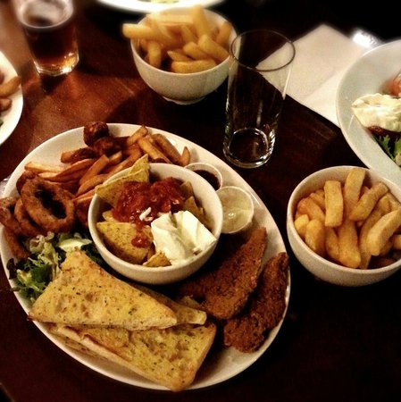 The Mill: Sharing plate