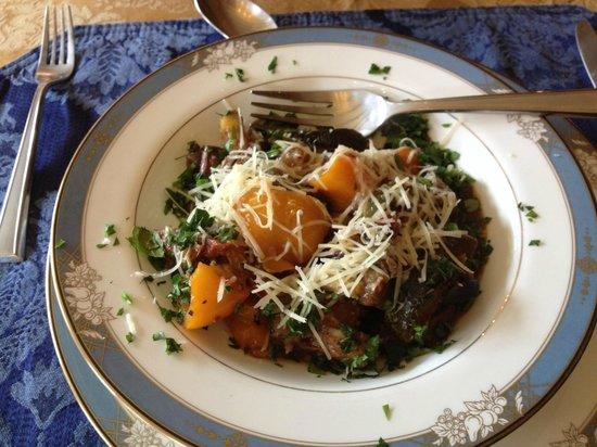 Copperhood Retreat & Spa: Delicious Ratatouille