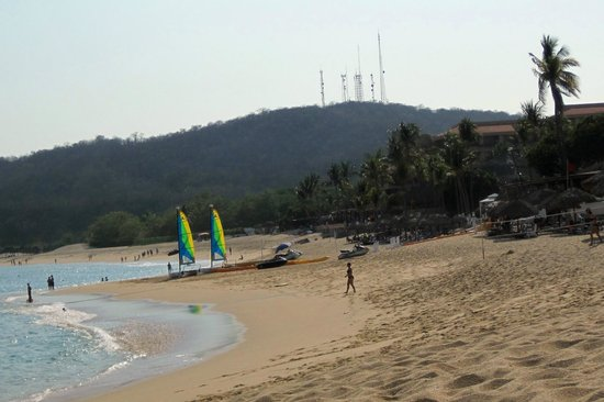 Dreams Huatulco Resort & Spa: beach