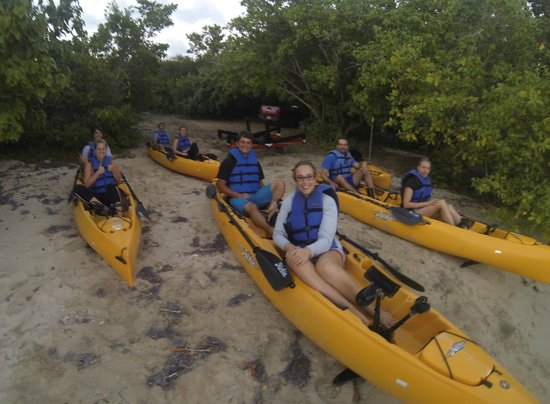 Virgin Kayak Tours: Getting ready for a little kayaking