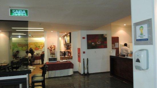 Eko Residence Hotel: recepcao