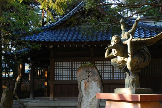 Oyama Shrine : Quirky statue