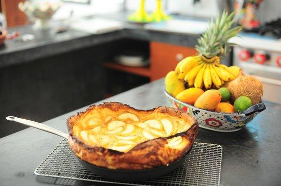 Casa Jacqueline: Baked Apple Pancae