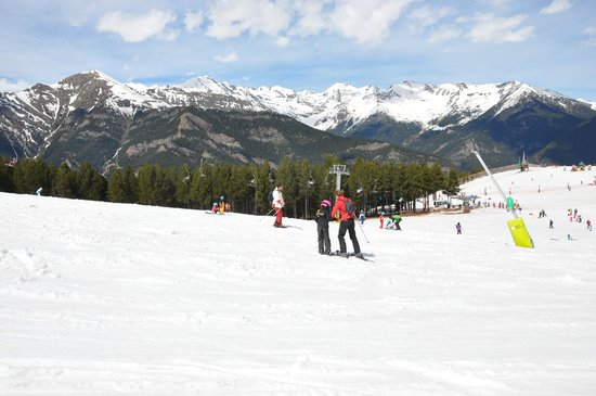 Ruta cicloturística 10: Vallnord Arinsal: Ski Resort of Pal-Arinsal, Valnord, Andorra.